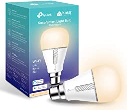 TP-Link Kasa Smart Wi-Fi Light Bulb, Dimmable, No Hub Required, B22 Lamp Base, Control from Anywhere, Works with Alexa & G...