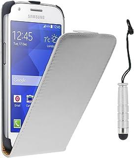 9028d7e3cd0 ebestStar - Compatible Funda Samsung Ace 4 Galaxy SM-G357FZ Carcasa Ventana  Vista Cover Cuero