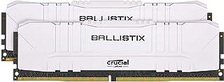 Crucial MEMC BALLISTIX White 8GB DDR4 2666MT/s CL16 UDIMM 288pin BL8G26C16U4W