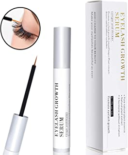 Eyelash Growth Serum, Eyelash Booster Natural Eyebrow Lash Enhancer, Rapid Brow Growing Treatment for Long Thick Looking Fuller Lashes and Eyebrows