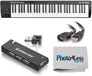 M-Audio Keystation 61 MK3 61-Key Semi-Weighted USB-MIDI Controller