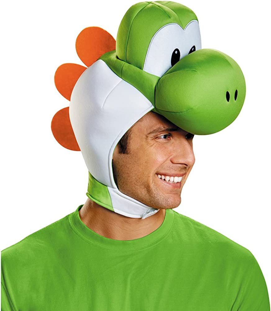 Disguise Adult Max 41% OFF Yoshi Baltimore Mall Headpiece