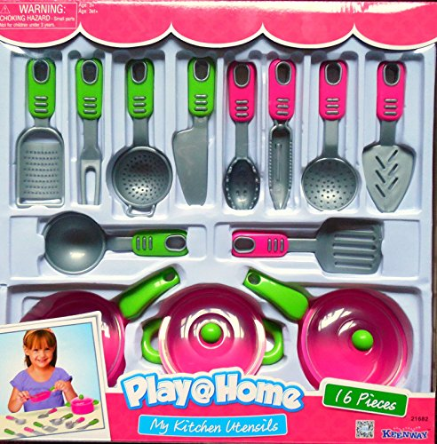 Keenway Play At Home My Kitchen Utensils by Keenway
