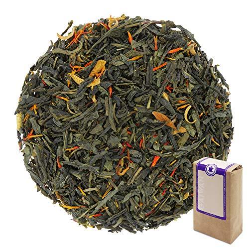 """N° 1277: Tè verde in foglie """"Arancia Fresca"""" - 100 g - GAIWAN® GERMANY - tè in foglie, tè verde dalla Cina, tè cinese, ananas, arancio, cartamo"""