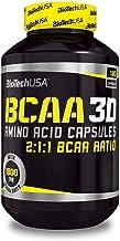BIOTECH USA BCAA Nano 3D / 90Caps L-Leucine, L-Isoleucine and L-Valine in a 2:1:1 Ratio | Build Muscle, Improve Recovery a...