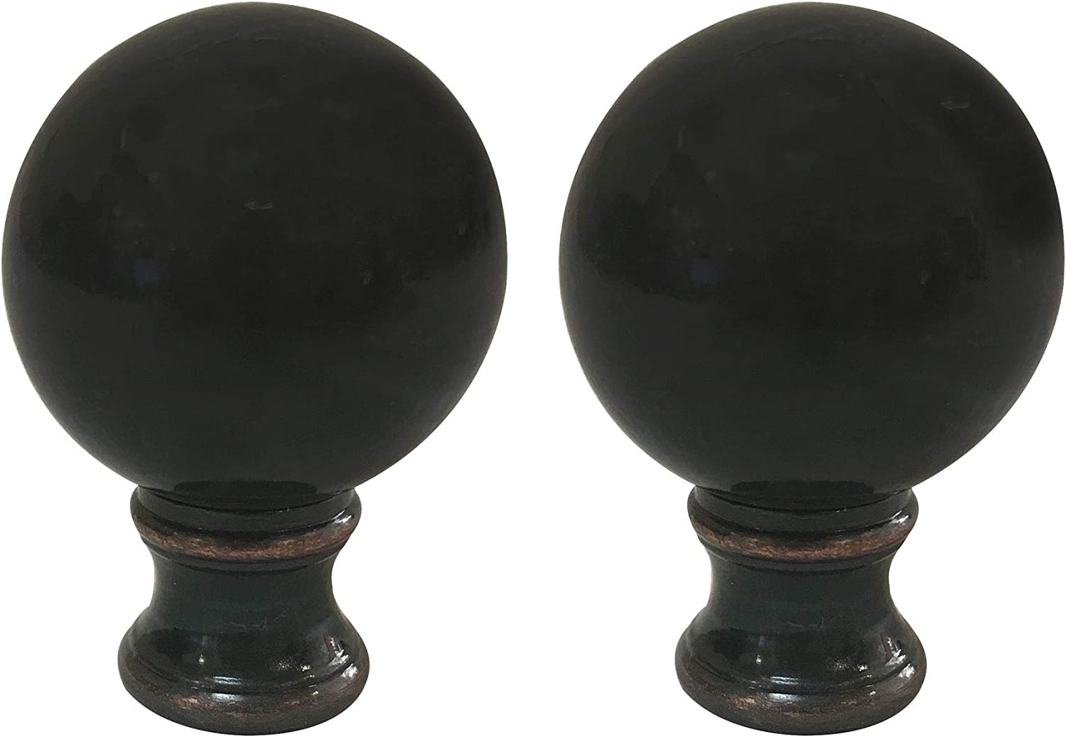 Royal Designs Ball Lamp Kansas Tampa Mall City Mall Finial for Shade Rubbe 2 Inch Oil
