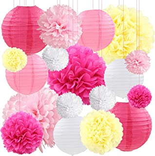 Best yellow and pink decorations Reviews