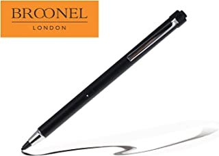 Broonel Midnight Black Rechargeable Fine Point Digital Stylus Compatible with The Archos 90b Neon