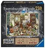 Ravensburger Puzzle, Escape The Puzzle, El Taller del Artista, 759 Piezas, Puzzle Adultos, Edad Recomendada 12+, Rompecabeza Adultos de Calidad