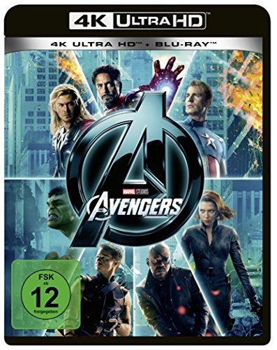 Marvel's The Avengers (4K Ultra HD) (+ Blu-ray 2D)