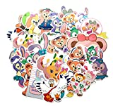 GSNY Dibujos Animados Duffy Bear Cute Fresh Stickers Trolley Case...