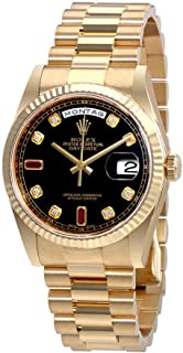 Best rolex oyster perpetual day date 18k gold Reviews