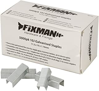 Fixman 983163 10J- Grapas galvanizadas (11,2 x 10 x 1,16 mm