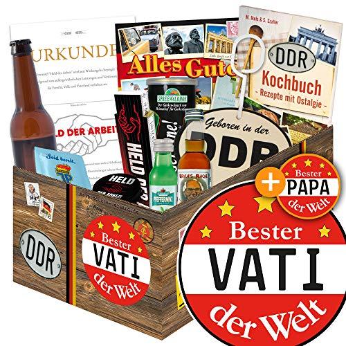 Bester Vati der Welt / Männer Geschenkset DDR / Geschenk Geburtstag