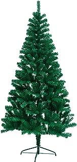 Artificial Christmas Tree, Dense 6 Foot Christmas Tree, Easy Assembly Xmas Pine Tree, Hinged Tree 800 Tips (6 FT, Green) SWONES (6)