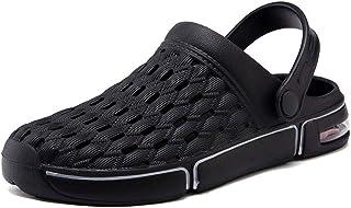 Unisex Non-Slip Breathable Lightweight Garden Shoes Beach Shoes Breathable Sandals Mules Clogs Shoes