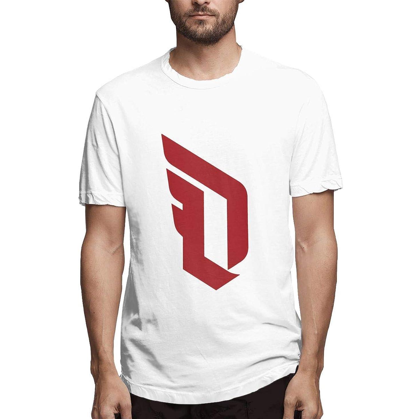 Men's Never-Doubt Dame-Time Damian-Lillard Short-Sleeve Classic Comfort Soft Crewneck T-Shirt