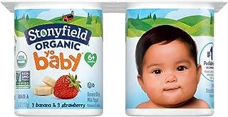 Stonyfield Organic, Farm Yobaby Organic Yogurt - 3 banana 3 mango, 6-pack