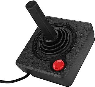 Sutinna Controlador de Joystick Retro, Control de Juego ergonómico analógico 3D clásico Joystick Gamepad, para Sistemas At...
