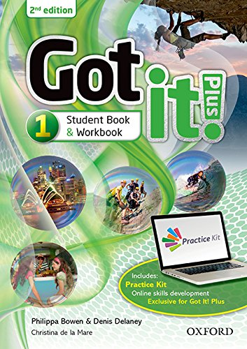 Got It! Plus 1 - Student's Book Pack: Get it all with Got it! 2nd edition!