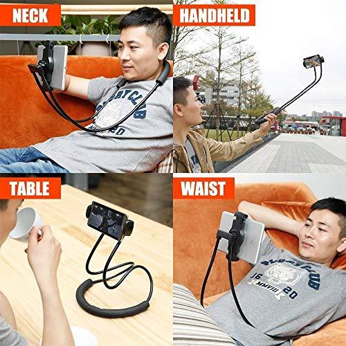 SBA DG 07092020 – NL – 003 Neck Lazy Mobile Holder Holder | Flexible 360 Degree | Lazy Bracket | DIY Free Rotating Mounts for Indoor | Outdoor | Home | Kitchen | Office | Car