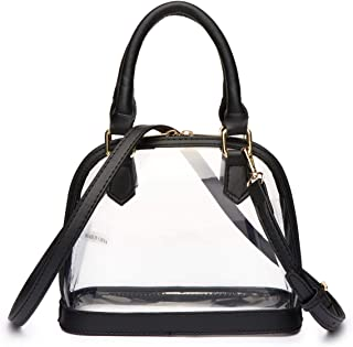 Clear Mini Dome Satchel Crossbody Purse - NFL Stadiums/Concert Venues Approved