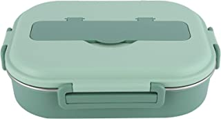 4‐Grid صندوق الغداء ، حاوية تخزين الطعام ، صندوق غداء بينتو ، للوجبات المكتبية والوجبات العائلية في مراهقات الطعام في الفص...