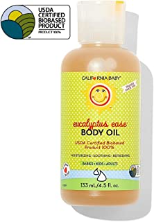 California Baby Eucalyptus Ease Massage Oil, 133ml