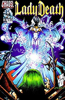 Lady Death IV: The Crucible #3 VF/NM ; Chaos comic book