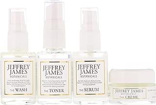 Jeffrey James Botanicals Deluxe Travel Set 4 Piece Set