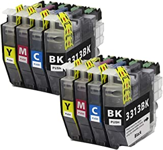 LC3313 Ink Cartridge Compatible Replacement For Brother DCP-J772DW MFC-J491DW MFC-J890DW Printer.Clear and Environmentally...