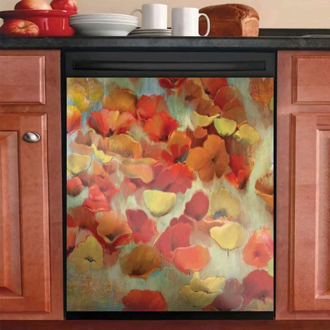 Magnet Dishwasher Cover Kitchen Our shop OFFers Max 73% OFF the best service Decorative Dish Washer Magn Door