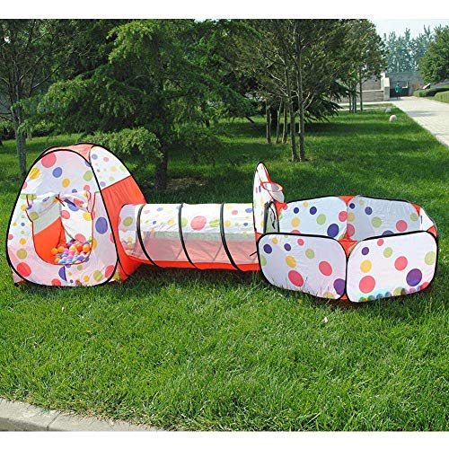 Tech Traders soft play Indoor-Outdoor Play Tunnel and Play Tent...