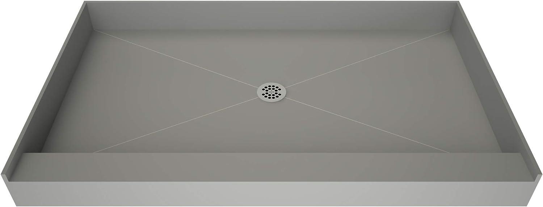 Fashionable Tile Max 89% OFF Redi B3460C-SCRDPVZ Shower Pan with Center Dr Kit Flashing