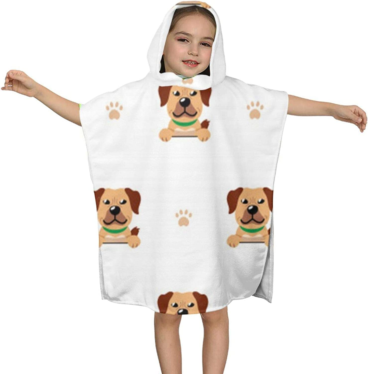 Dog Seamless Kid Towels with Toddler Boys Spring new work Ranking integrated 1st place Hood Little for