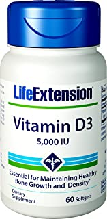 Best life extension vitamin d3 Reviews