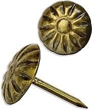 FUXXER® - 100x antieke decoratie nagels, sierhoofd-nagels, gestoffeerde nagels, trek-doeleinden, vintage antieke look, 11 ...