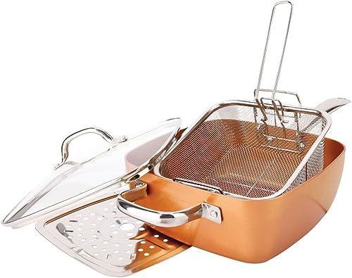 high quality Square high quality Pan Sets FBA_ Non-Stick Copper Titanium, online 1 outlet online sale