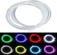 PMMA Optic Fiber Light Cable Side Glow Diameter for Fiber Optical Lighting Decoration 5M (0.08in)