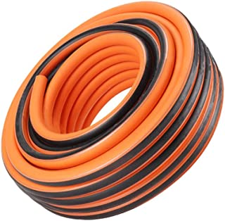 Anti-Freeze High Pressure Water Pipe 1/2′′ Household Water Gun Watering Hose Wall Thickness: 2.25mm Orange (Size : 100m)