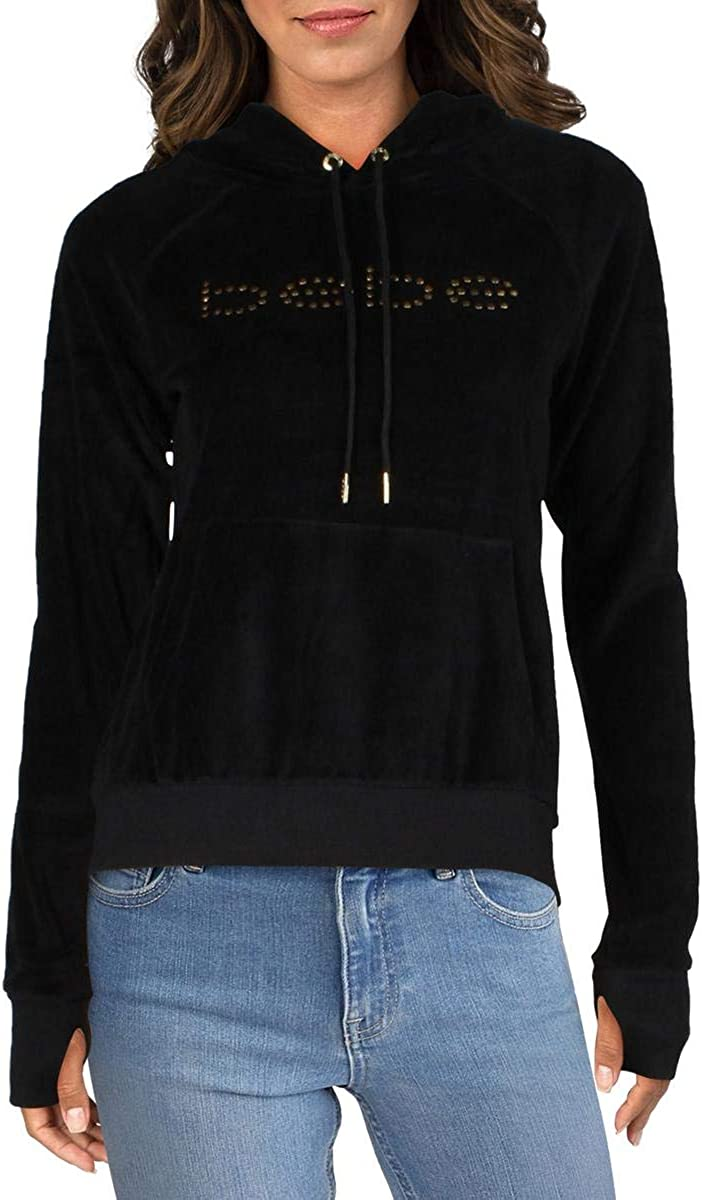 Max 61% OFF Bebe New product!! Sport Womens Velour Hoodie Studded