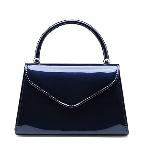 39dbb0856b SALE NEW Elegant Women's Classy Stylish Patent Leather Clutch Bag/Handbag/Chain  Crossbody bag