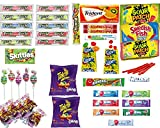 EVAXO LUV BOX - Variety Sour Box - 45 Piece Assortment Of The Worlds Most Sour Candy