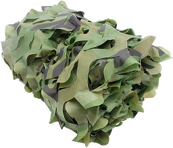 FiletFilet de Camouflage - Tissu Oxford léger et Durable renforcé Camping Hide Jungle Filet de Camouflage,4  5m
