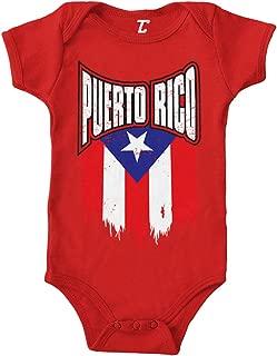 Puerto Rico - Torn Flag Strong Proud Bodysuit