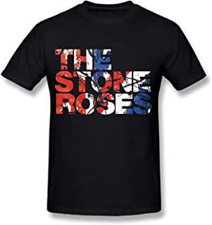 The Stone Roses Waterfall Short Sleeve Funny T-Shirts for Men