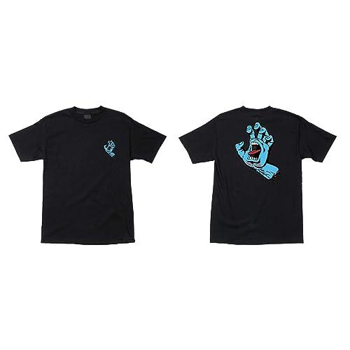 Santa Cruz Skateboards Screaming Hand Crew Short Sleeve T-Shirt
