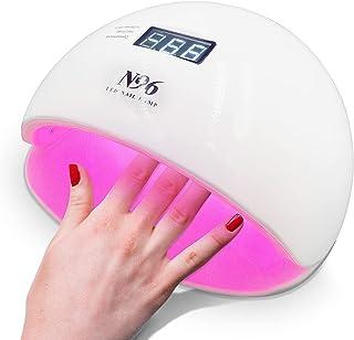 2021 Gel UV LED Nail Lamp 96W, Brfise Nail Dryer for Gel and Regular Polish, lampara uv para uñas de gel with Auto Sensor/...