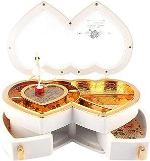 صندوق الموسيقى Ballerina الموسيقى والمجوهرات صندوق تخزين مربع الهدايا للضود الفتيات لطيف صناديق الموسيقى لطيف للأطفال صندو...
