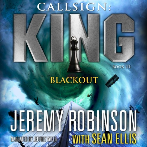 Callsign King - Book 3 - Blackout audiobook cover art